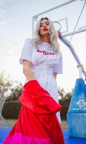 Nuclear T-Shirt Dress