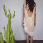 Nude Fringe Dress