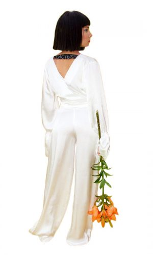 Pure Silk Jumpsuit #2