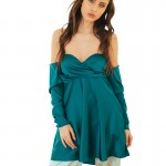 emerald dress0