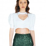 heart cropped top0