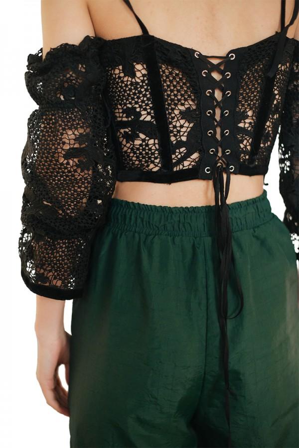 lace corset top1