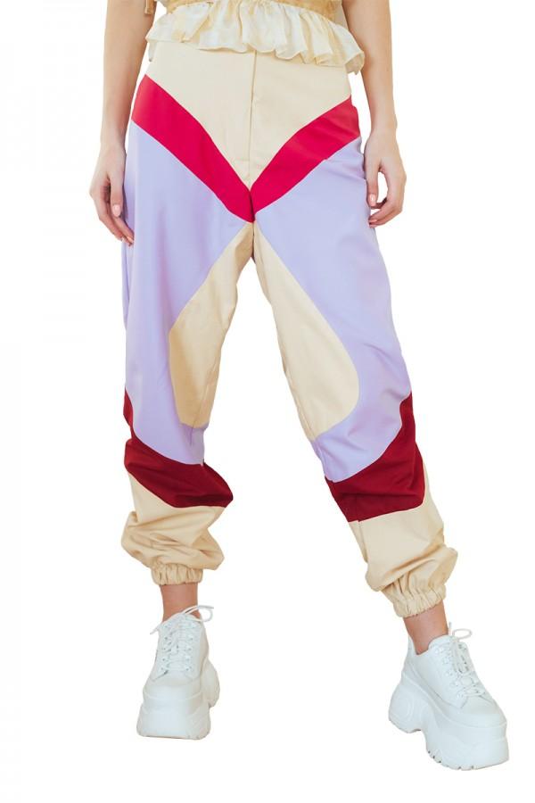 multi color cargo pants1