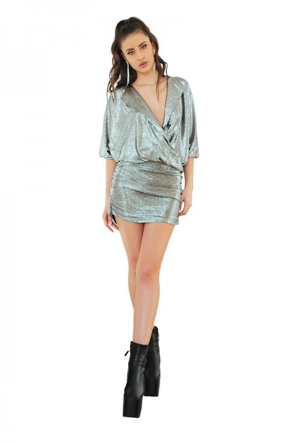 silver metalic dress2